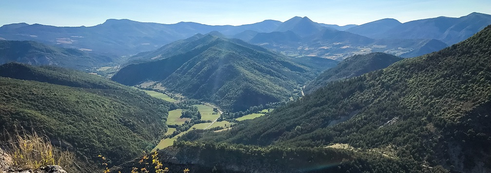 Vue vallée Baronnies